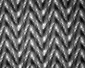 Rhodes Shadow Black Premier Prints Fabric - One Yard - Black and White Home Dec Fabric