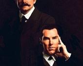Sherlock & Watson Canvas or Glossy Art Print; The Violinist