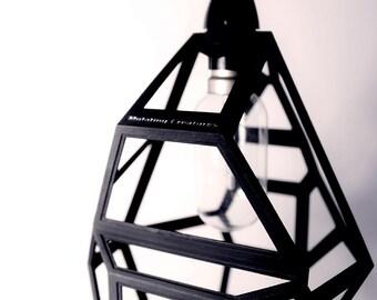 Industrial 3D Printed Pendant Light - Pendant / Table Light