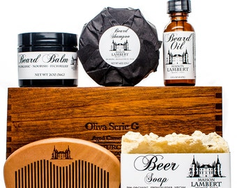 Ultimate Beard grooming Kit - Beard Care Kit - beard oil - beard balm - beard care - beard stuff - mens gifts - beard comb - beard groom