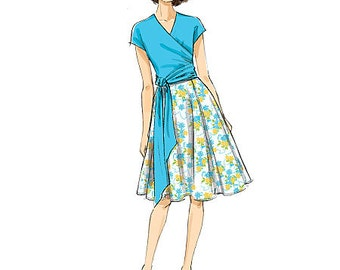 Butterick 6285, New uncut sewing pattern, Misses Top and Skirt pattern, DIY Top and skirt, size 6-8-10-12