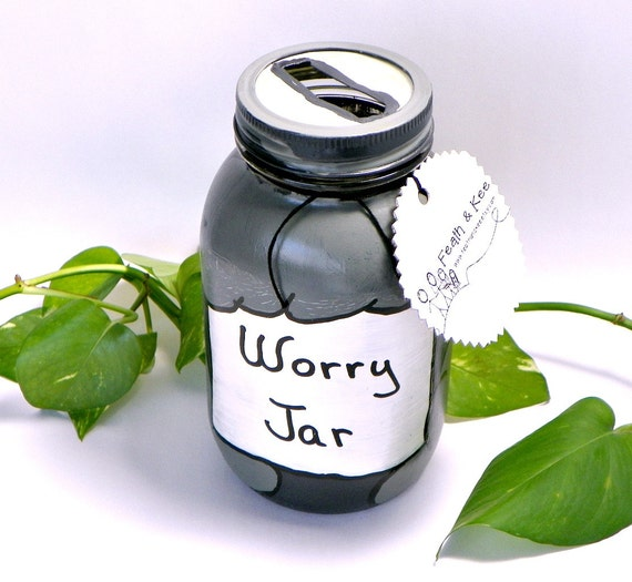 Worry Jar 2 from Feath and Kee