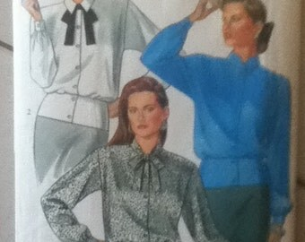 """New Look Blouse Pattern 6019   Size: 8-18, Bust 31""""-38"""""""