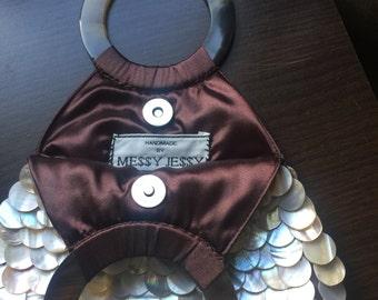 Handmade Shell Beaded Handbag