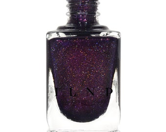 Storytelling - Sultry Dark Purple Holographic Nail Polish