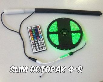 Slim OCTOPAK 4-S 1 X 8 LED Strip Light Battery Pack for RGB Strip Light