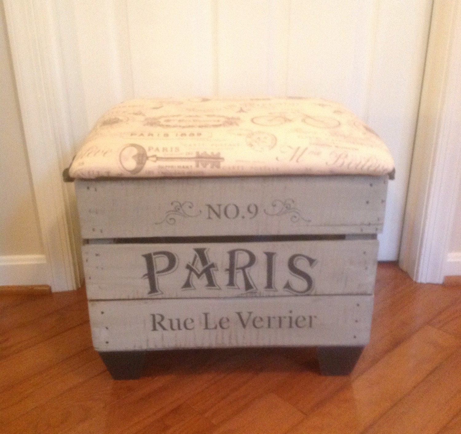 Refurbished vintage apple crate for Used apple crates