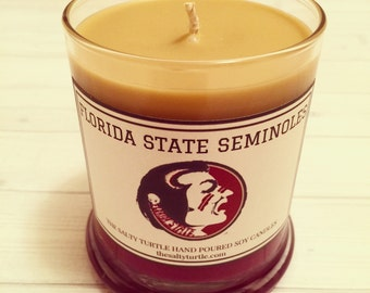 NCAA Custom Hand-Poured Soy Candle