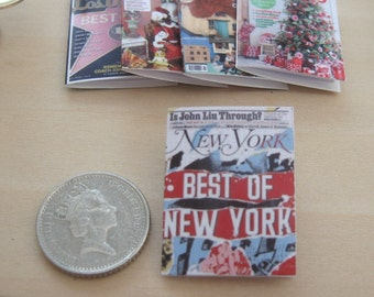 dollhouse magazine  best of new york 12th scale miniature x 1