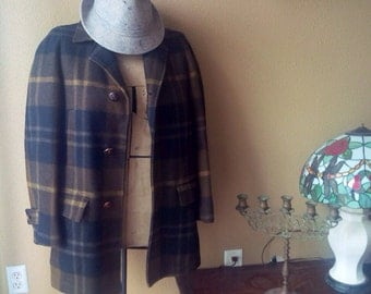 Pendleton Jacket Woolen Mills Overcoat Peacoat Pendleton Wool
