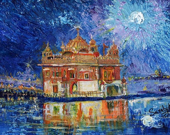 Golden Temple by night