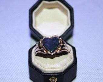 9ct Bloodstone Signet Ring
