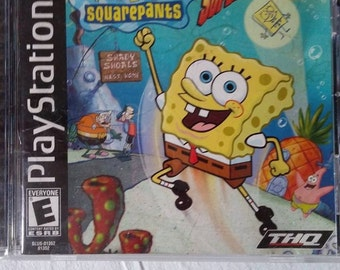Playstation 1         SpongeBob Squarepants Game