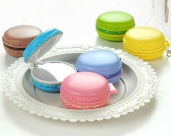Macaron Compact Mirror