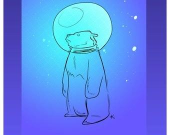 Regular Print - Moon Bear #1