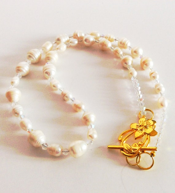 CULTURED FRESHWATER PEARL Necklace Ivory