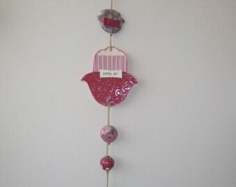 Hamsa, artistic handmade