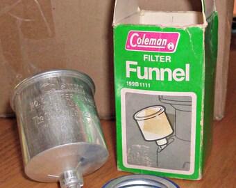 Vintage COLEMAN Filter Funnel