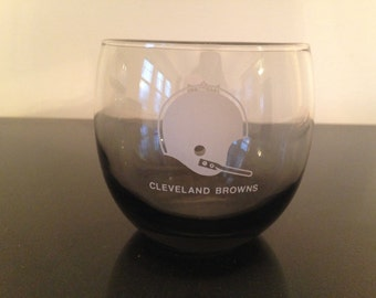 Vintage Cleveland Browns Rocks Glass