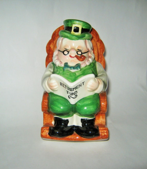 Saint Patrick's Day Leprechaun Bank