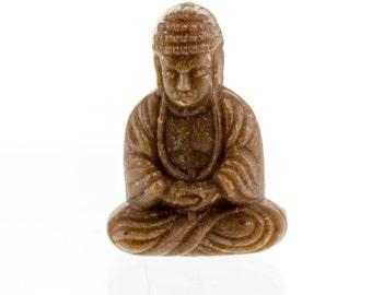 25x18 Buddha Bead in scinagro brown 2Pcs
