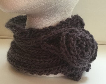 Cosy Neck Wrap, Neck Wrap, Scarf, Valentines gift, Alternative Scarf, Spring Accessory, Purple Neck wrap, Purple Neck Cosy, Purple Scarf