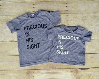 Precious In His Sight Kids Tee