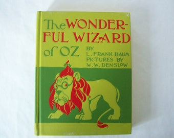 The Wonderful Wizard of OZ By L. Frank Baum Signed Copy