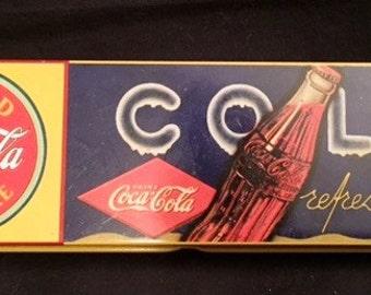 Coca Cola pencil tin