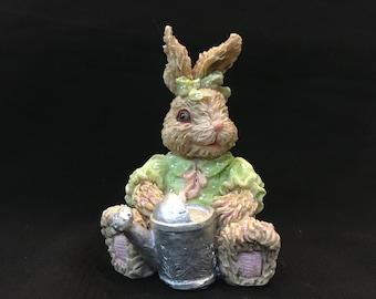 Spring Bunny Figurine