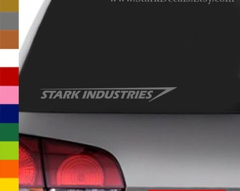 Stark Industries Logo Inspired Decal