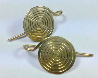 "Plug made of brass wire ""the spiral"""