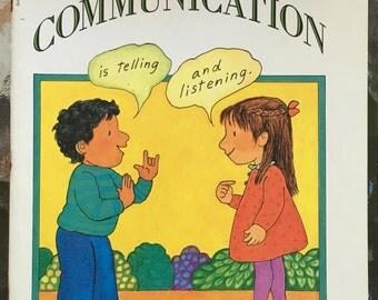 COMMUNICATION Aliki Children's Book Scholastic 1990s