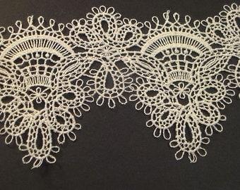 Flower Design Lace, Designer Lace, Antique Lace, Fabric Lace, Lace Trim,