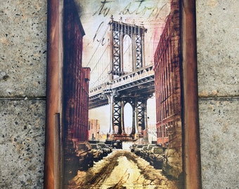 Manhattan Bridge - 18x36 in.