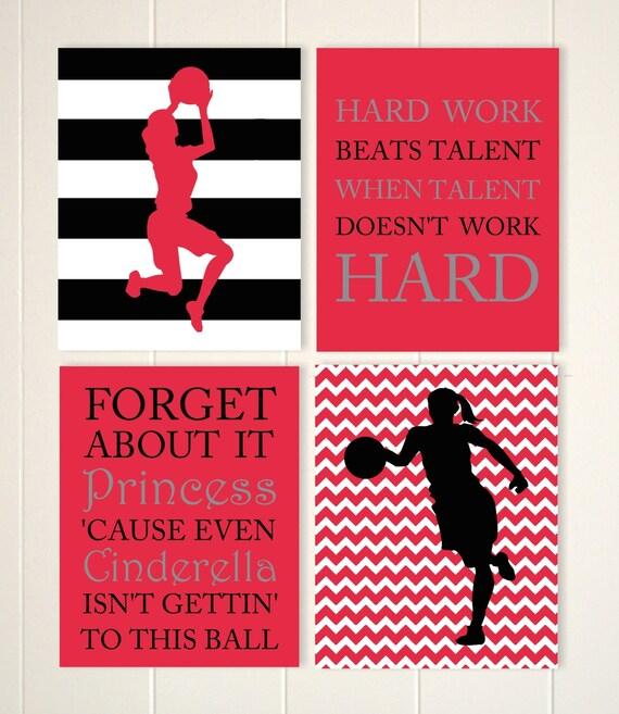 Basketball girl wall art basketball player basketball room - Basketball wallpapers for girls ...
