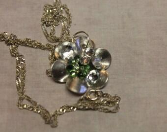 Sterling Silver Swarovski Crystal Pendant Necklace