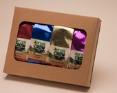 Organic Loose Leaf TEA - 4 Pc  or 6 Pc. Sampler. Antioxidant, Healthy Tea Assortment. Mother's Day Treat
