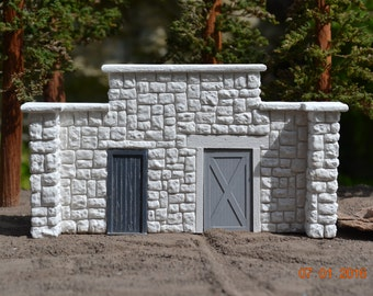 O/On3/On30 Model Train Layout Mine Entrance Old Ore Mine/Coal Mine/Lead Mine 1:48 Scale On3 or On30 Narrow Gauge Mine Entry Perfect Bachmann