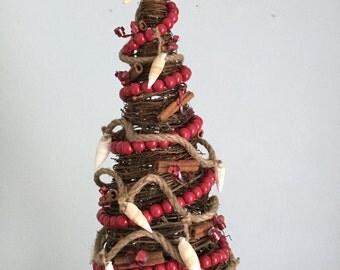 Christmas Tree (rustic grapevine)