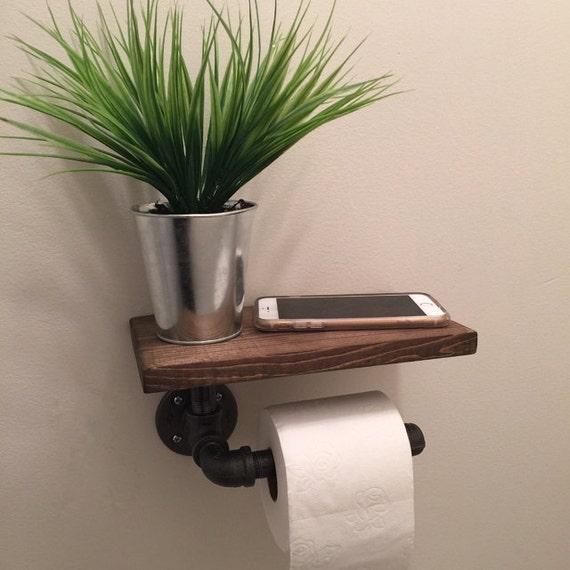 Porte Papier Toilette Industriel Avec Tag Re Tuyau De
