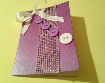 Handmade set of 2 cards