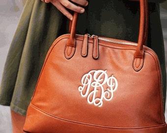 Monogrammed Handbag