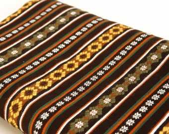 SALE! -30% Ethnographic woven skirt fabric, Latvian ethnographic fabric, Scandinavian Fabric
