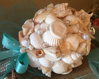 Sea shell bouquet