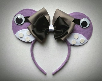 Boo (Monsters Inc) inspired Minnie Mouse Ears