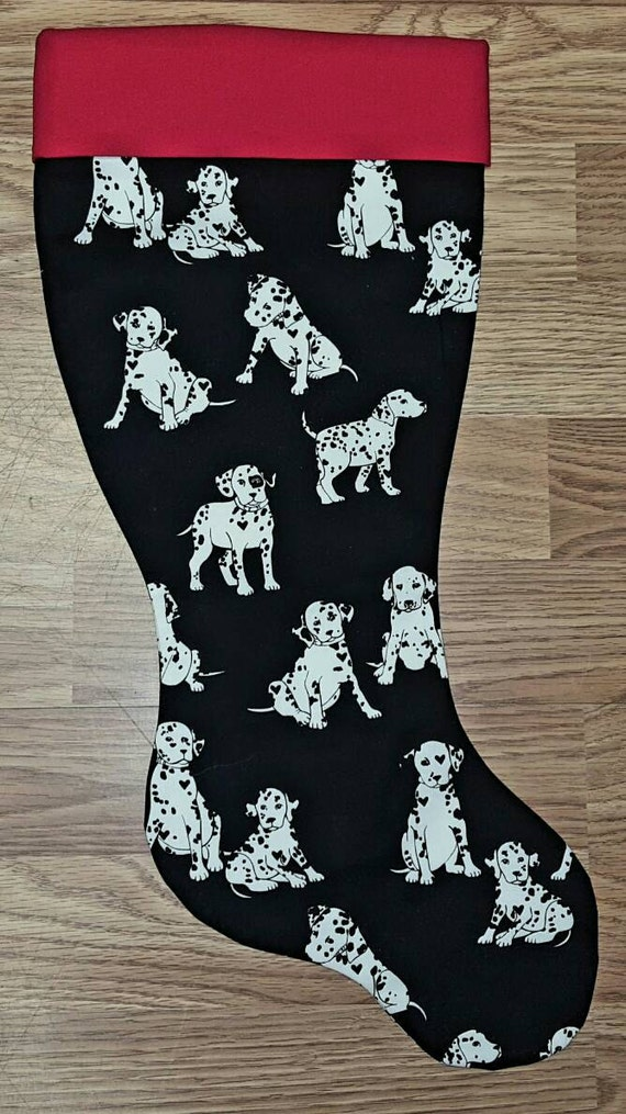 Dalmatian  Christmas Stocking