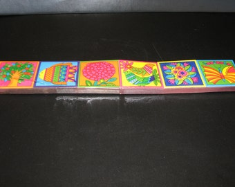 Funky retro boxed matches Japan 1960's