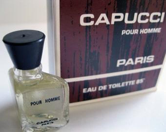 Capucci Pour Homme by Roberto Capucci 70's Vintage Formula Eau de Toilette Miniature FREE UK DELIVERY!