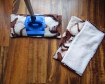 Reusable mop/duster sets horses